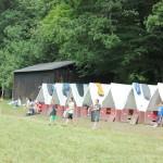 Letní tábor na Rachačce